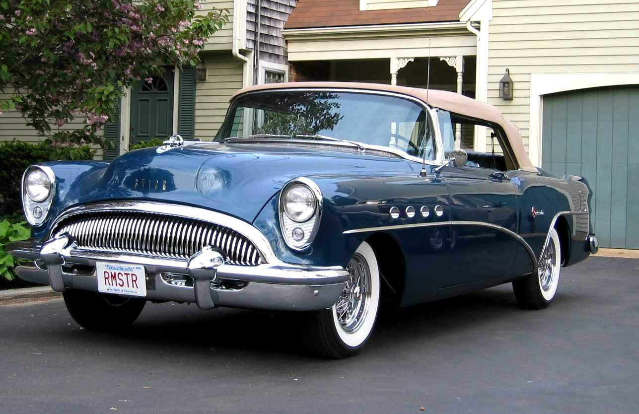 1954 Buick Roadmaster Convertible (model 76 C)
